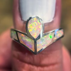 Angel Opal Ring [GC03] $65.00 | Indie & Harper