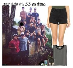 """""""#1579"""" by sofi-camachod ❤ liked on Polyvore featuring Paige Denim, H&M, Vans and O'Neill"""