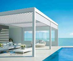 5 Attractive Cool Tips: Black Canopy Bed terrace canopy retractable pergola. Aluminum Pergola, Wooden Pergola, Diy Pergola, Pergola Kits, Backyard Canopy, Garden Canopy, Canopy Outdoor, Outdoor Decor, Canopy Bedroom