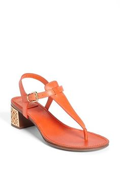 Tory Burch 'Audra' Sandal available at #Nordstrom - didn't get these, but did find a really cute substitute at a third of the price.  :)