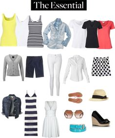 I may not like all of these exact pieces...but this gives me a little direction for spring/summer. Still needing: (Modest) Maxi dress, New Denim jacket, City short, 3 Tank tops, and 3 Basic cotton t-shirts.