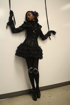 "corsets: ""Happy Halloween!"" Thank you so much for your submit :) You look amazing!"