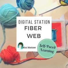 This highly motivating, fibers lesson will allow each student in your classroom to explore and create on their own. This lesson has a QR code that brings students to a recorded video showing them how to create a fiber web. The video is designed for early learners (Kindergarten through 4th grade).