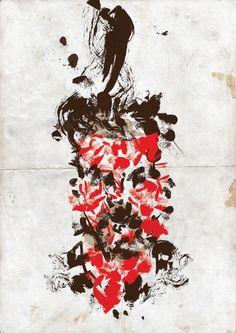 Illustrator Lungile Mbokane uses earthy tones and inspiration from newsprint   Design Indaba