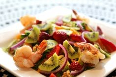 Strawberry Poppy Seed Salad - This sounds delicious!