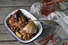 Pistachio: Smaki Alzacji. Lody piernikowe i crumble z marcepanową kruszonką.
