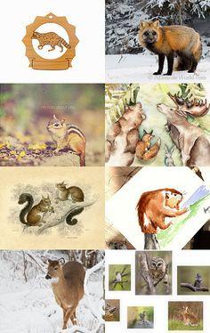 Canada Day!  Canadian wildlife. Canadian Wildlife, Canada Day, The Visitors, Maya, Kid, Drawings, Garden, Happy, Etsy