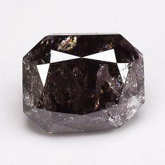 1.54 Ct. RARE ! Fancy Purple Brown Radiant Shape Natural Loose Diamond Deal