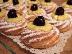 Ecco la ricetta per le zeppole al forno con la ricette bimby, dolce buonissimo e semplice da preparare per la festa di San Giuseppe