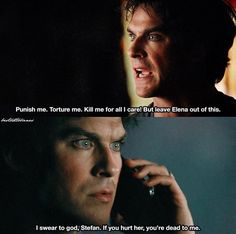 he is so protective of elena