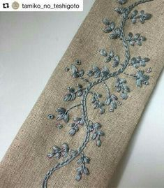Wonderful Ribbon Embroidery Flowers by Hand Ideas. Enchanting Ribbon Embroidery Flowers by Hand Ideas. Crewel Embroidery Kits, Embroidery Needles, Silk Ribbon Embroidery, Hand Embroidery Patterns, Vintage Embroidery, Machine Embroidery, Embroidery Supplies, Flower Embroidery, Border Embroidery Designs