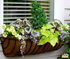 Uma inspiração de jardineira para você fazer na sua casa.