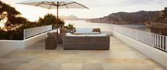 carrelage extérieur et carreaux de terrasse en beige clair