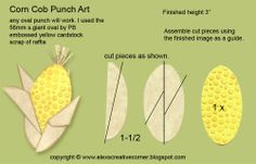 corn cob punch art