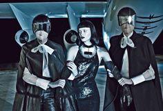 Space Odyssey Photographed by Steven Klein Model Karen Elson