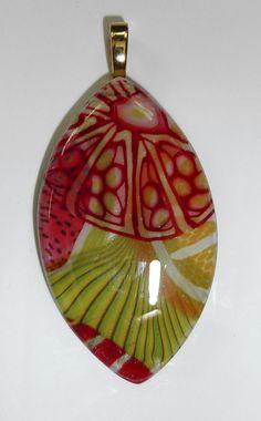 Fruit salad pendant by Papago Design