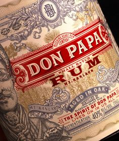 (Via Don Papa - The Dieline - The # 1 Package Design Website -)