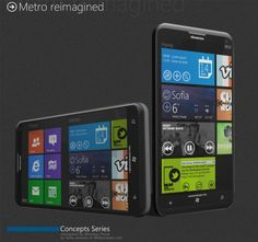 Windows Phone 8 concept with new Homescreen