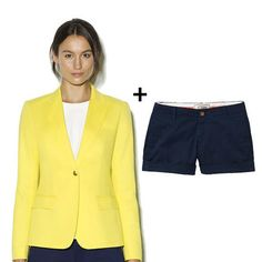 FabSugar: How to Wear Short Suits for Spring