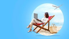 Asian business woman working with laptop sitting in the beach chair #paid, , #AD, #PAID, #woman, #business, #beach, #working Business Women, Business Travel, Photography Backdrop Stand, Beach Chairs, Free Photos, Hanging Chair, Backdrops, Photo Editing, Laptop
