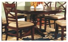 Topaz Round Dining Table contemporary-dining-tables