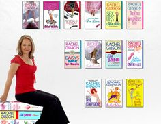 Rachel Gibson's books. So girlie and perfect!