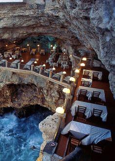 Grotta di Palazzo, Polignano a Mare, Italy