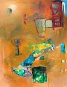 "Saatchi Art Artist GEORGE KARAFOTIAS; Painting, ""Summer time"" #art"