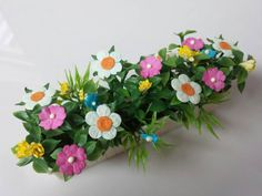 Window box Flower Planter Toy Dollhouse Traditional Style Patio Flower box