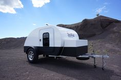 Ultra-light Fiberglass Teardrop Trailer