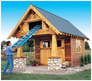 Free Plans - Craftsman Style Shed with Storage Loft
