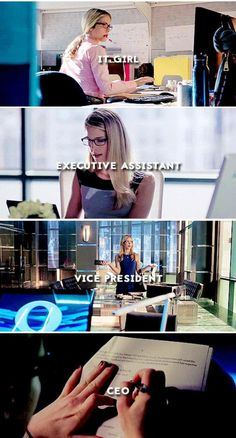 Felicity Smoak <3 Queen Incorporated is coming people and Felicity Queen is going to be in charge.