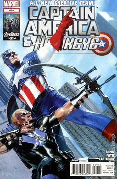 Captain America and Hawkeye (2012) 629  Marvel Comic books modern age