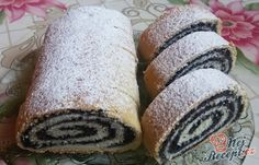 Strudel Topping, Easy Cake Decorating, Hot Dog Buns, Sprinkles, Poppies, Bread, Simple, Food, Recipes