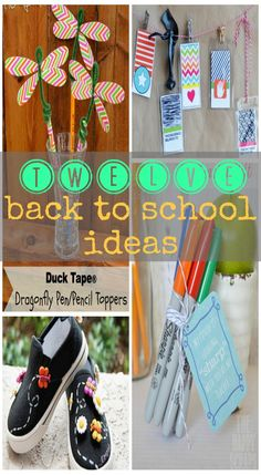 12 Back to School Ideas {Must Pin Projects} - Becoming Martha