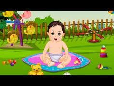 Garden Baby Bathing Game By BOKGames