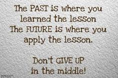 Don't Give up!!