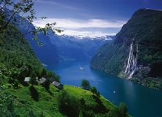 The fjords of Norway.  On my bucket list.
