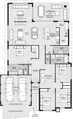 The Procida floorplan