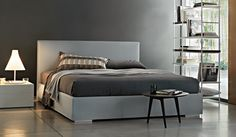 Double beds: Bed Camille by Lema