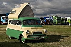 1959 Bedford CA Dormobile 1507cc Motor Home - I love the weirdness and obscurity.