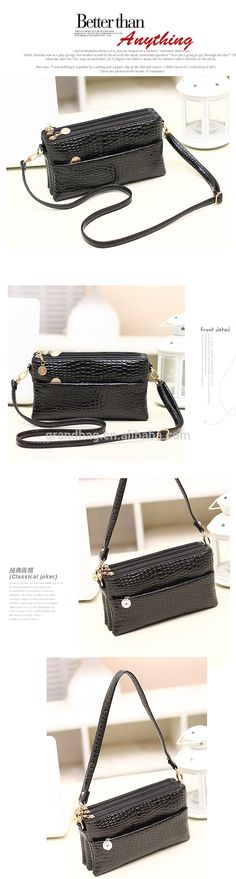 2015 New Fashion Crocodile Emboss PU Leather Satchel Bag Clutch Shoulder Bags for Lady, View Crocodile PU lady Bag shoulder, Grandbag Product Details from Guangzhou GrandBag Leather Products Co., Ltd. on Alibaba.com