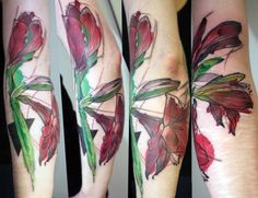 awesome, messy tattoo style!!