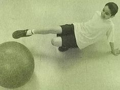 Players move about in a crab position--Both hands and feet on the ground. Lacrosse, Soccer, Gopher Sports, Stability Ball, Physical Education, Balls, Futbol, European Football, Exercise Ball