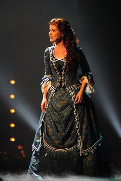 Sierra Boggess - Phantom of the Opera Wishing You Were Somehow Hear Again dress