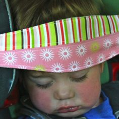 Rest Your Child's Sleepy Head On A SlumberSling  ... see more at InventorSpot.com
