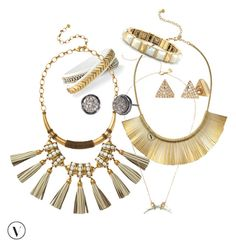 """""""S & D spring jewels"""" by kmathews62 on Polyvore featuring Stella & Dot, women's clothing, women, female, woman, misses and juniors"""
