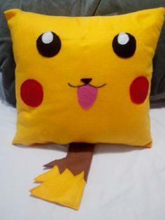 Almofada Pikachu | Conforto Geek | 338206 - Elo7