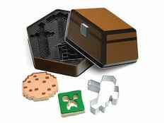 Molde para galletas Minecraft Estupendo molde para galletas basados en las formas del videojuego Minecraft.