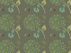 """DEEP LICHEN CHIVES"" by clairyfairy. Bedding in organic cottons. Cushions in linens. Upholstery in heavy duty twill."